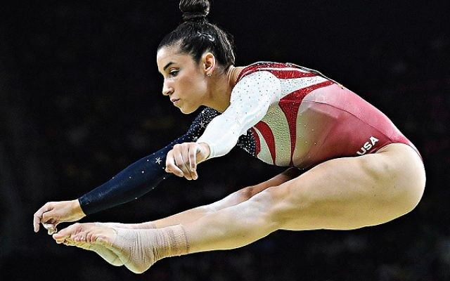 Aly Raisman won her second medal of the Games on Thursday night