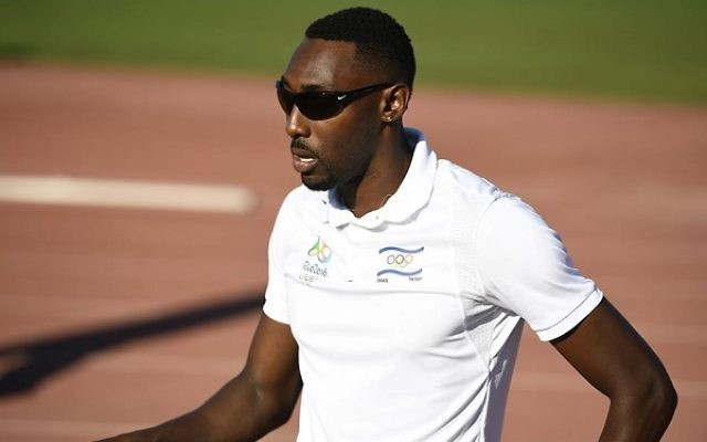 Donald Sanford failed to reach the semi-finals of the 400m