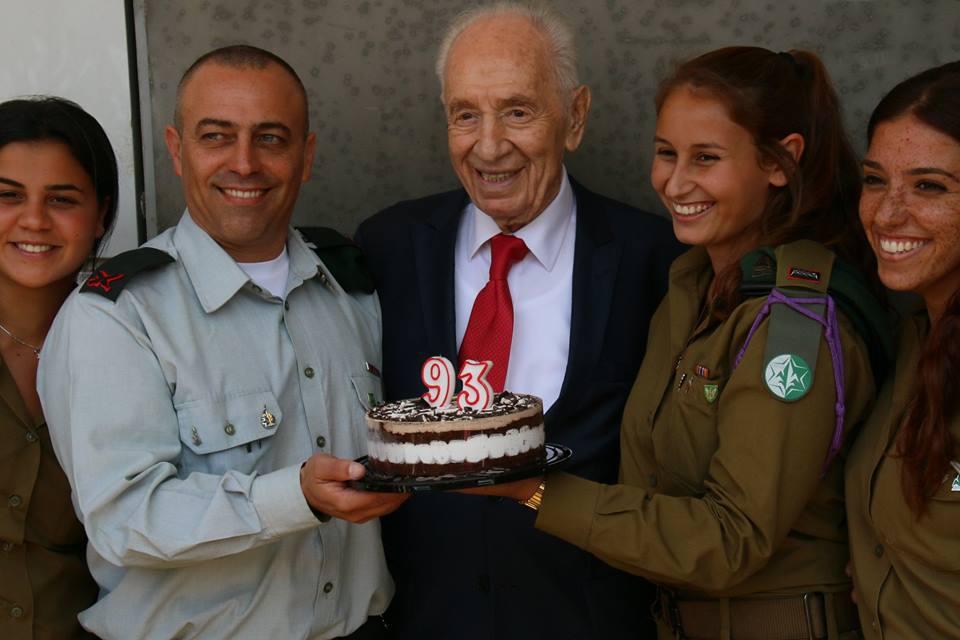 Shimon Peres celebrates 93!