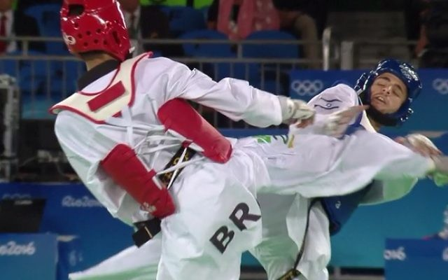 Israeli taekwondo fighter Ron Atias was banned from competing in Tunisia