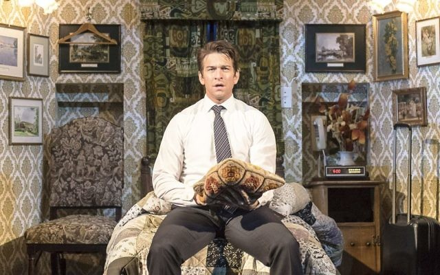 Tomorrow is always a day away for Andy Karl's Phil Connors in Groundhog Day at the Old Vic.