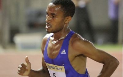 Marhu Tefari was the quickest of Israel's three marathon runners
