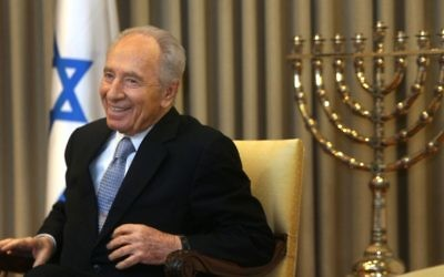 The late Shimon Peres