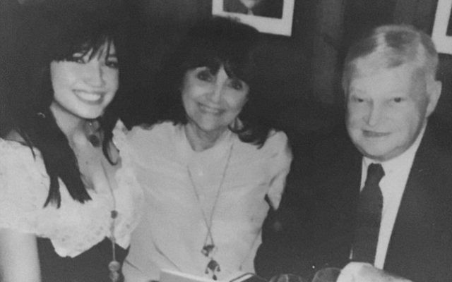 Daisy Lowe's tribute image of her late grandfather.