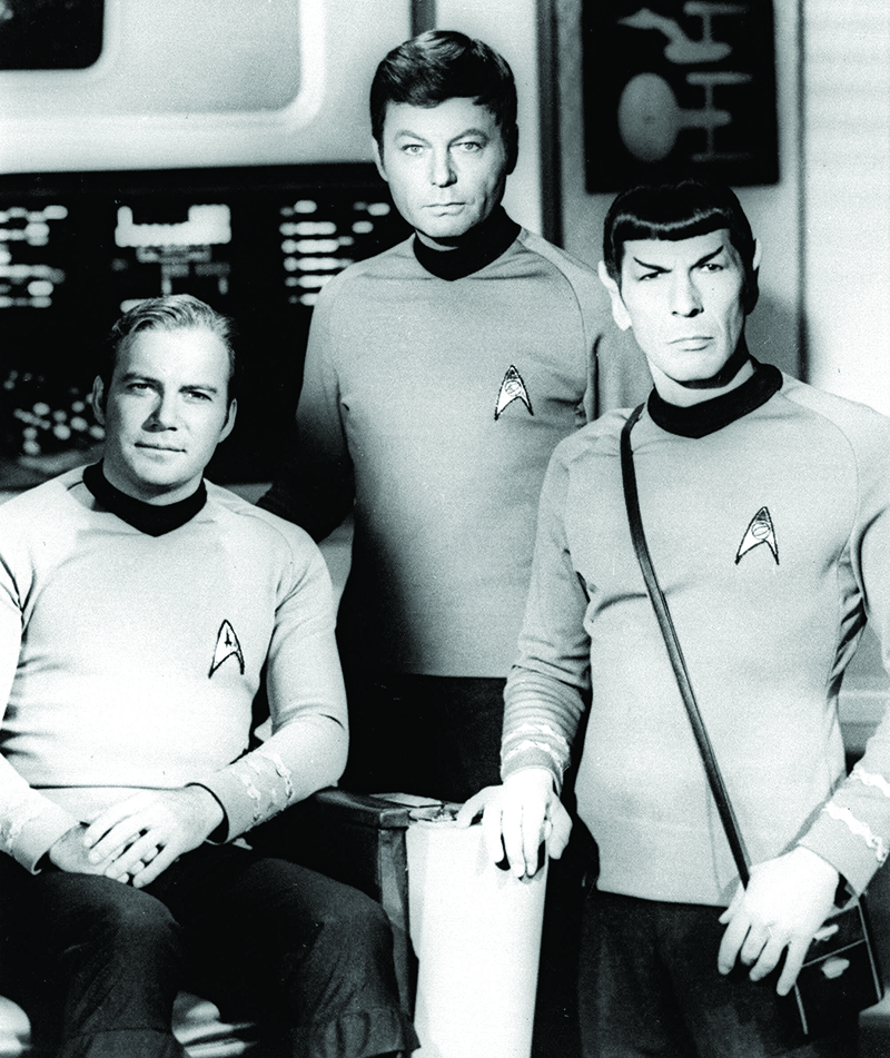 Kirk, McCoy and Spock