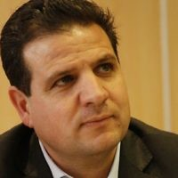 Ayman Odeh, head of the Joint Arab List, which is the umbrella group of Arab parties in the Knesset