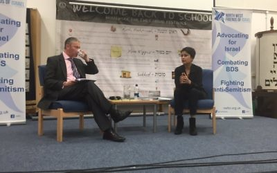 Shami Chakrabarti in conversation during the event