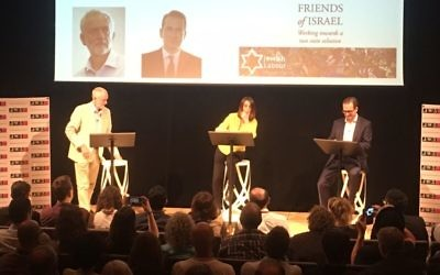 Corbyn and Smith clashed fiercely during the debate, chaired by BBC  correspondent Lucy Manning and organised by the Jewish Labour Movement, Labour Friends of Israel and JW3, and media partnered by Jewish News.