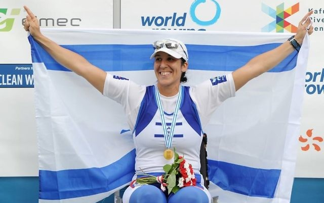 Rower Moran Samuel has won bronze in Rio