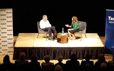Yehuda Bauer at JW3 interviewed by Labour MP Tulip Siddiq