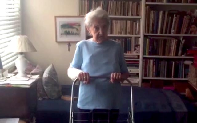 Gina Zuckerman (Screenshot from New York Post video)
