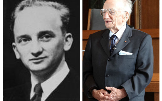 Ben Ferencz, then and now