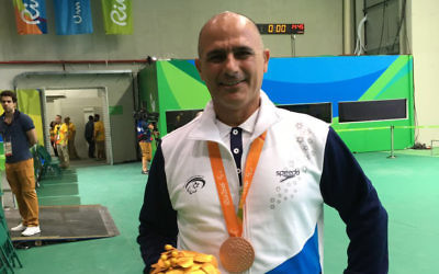Doron Sharizi is targeting more success in Tokyo in 2020