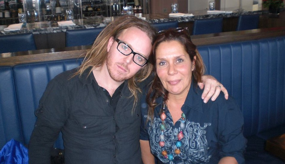 Brigit with Tim Minchin