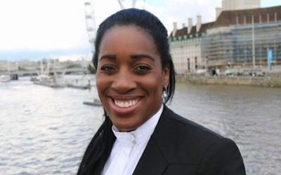 Shadow international development secretary Kate Osamor MP acted quickly after being made aware about the posts