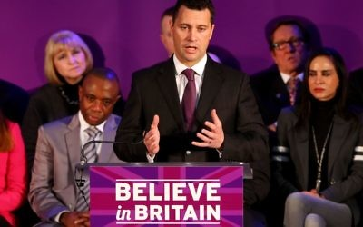 Steven Woolfe. Photo credit: Gareth Fuller/PA Wire