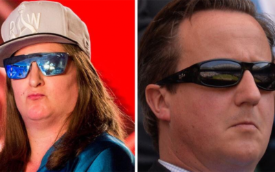 David Cameron retires, Honey G turns up. Coincidence?