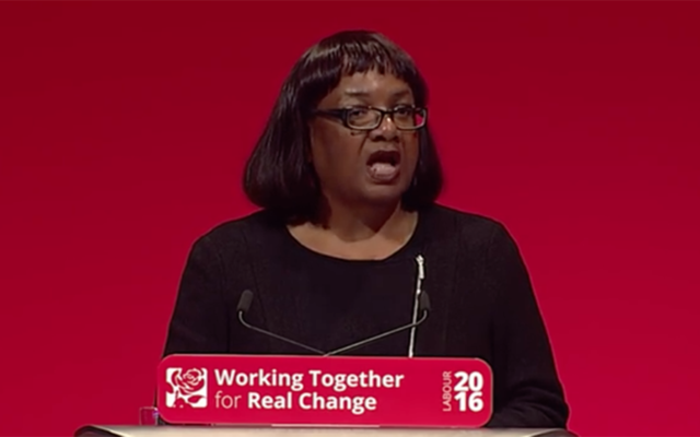 According to several unconfirmed reports, Diane Abbott was present during the vote.