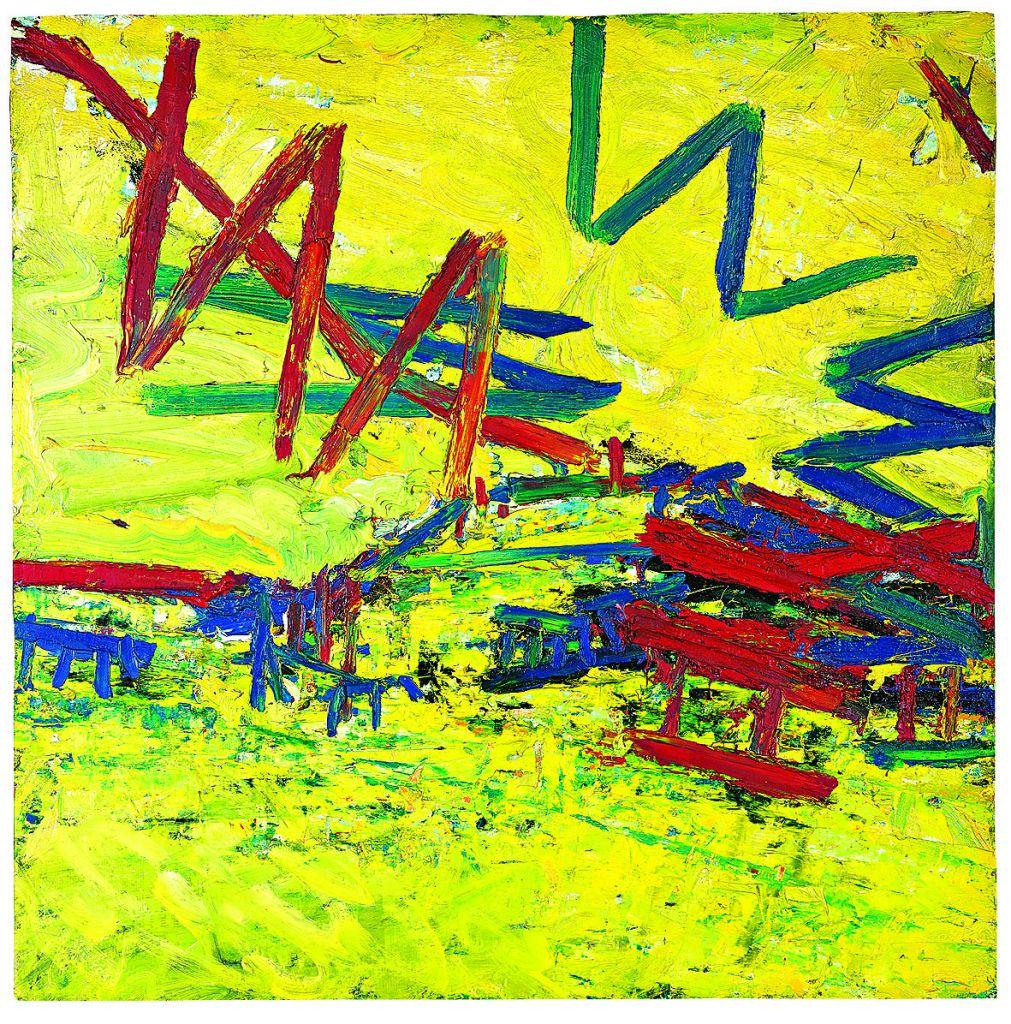 Frank Auerbach's Primrose Hill, Summer, 1968