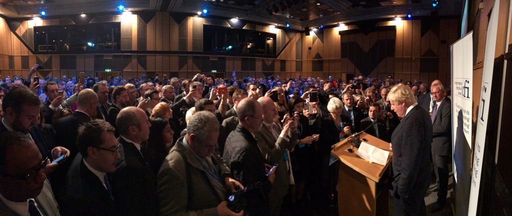 Standing room only at Conservative Friends of Israel