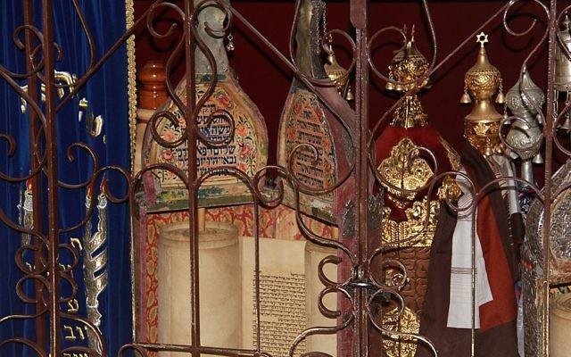 Sephardi Torah scrolls