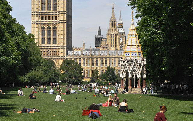 Victoria Tower Gardens is the proposed site of the memorial