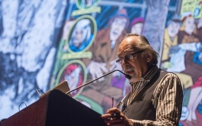 Art Spiegelman is bringing his new show, Wordless, to the Barbican on Friday. Credit: Robert Kozloff/The University of Chicago.