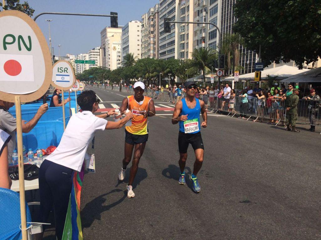 Gadi Yarkoni at the Paralympics in Rio, Brazil 2016