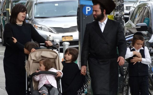A religious Jewish family will be able to push a pram on shabbat inside an eruv