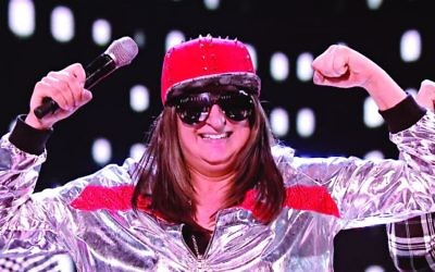Honey G celebrates being put through to the next round