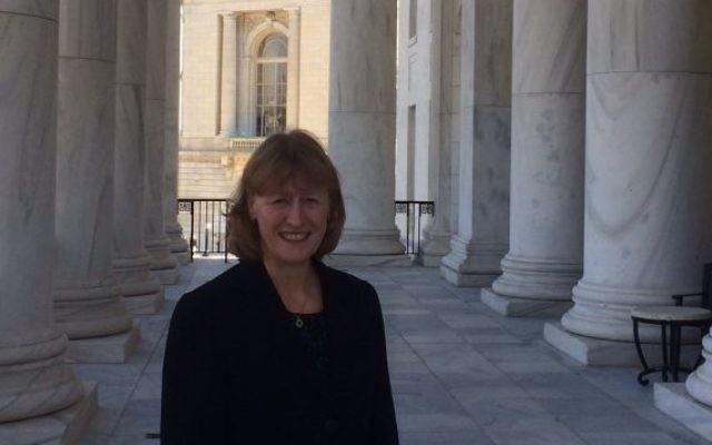 Joan Ryan in Washington D.C.