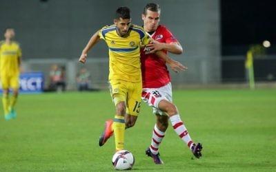 Maccabi Tel Aviv and AZ Alkmaar played out a goalless draw