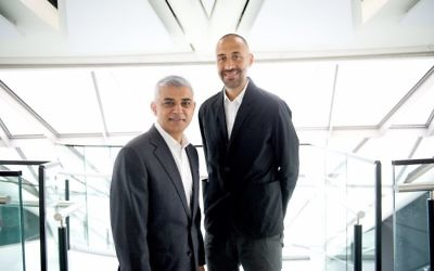 Mayor Sadiq Khan with his deputy, human rights lawyer Matthew Ryder