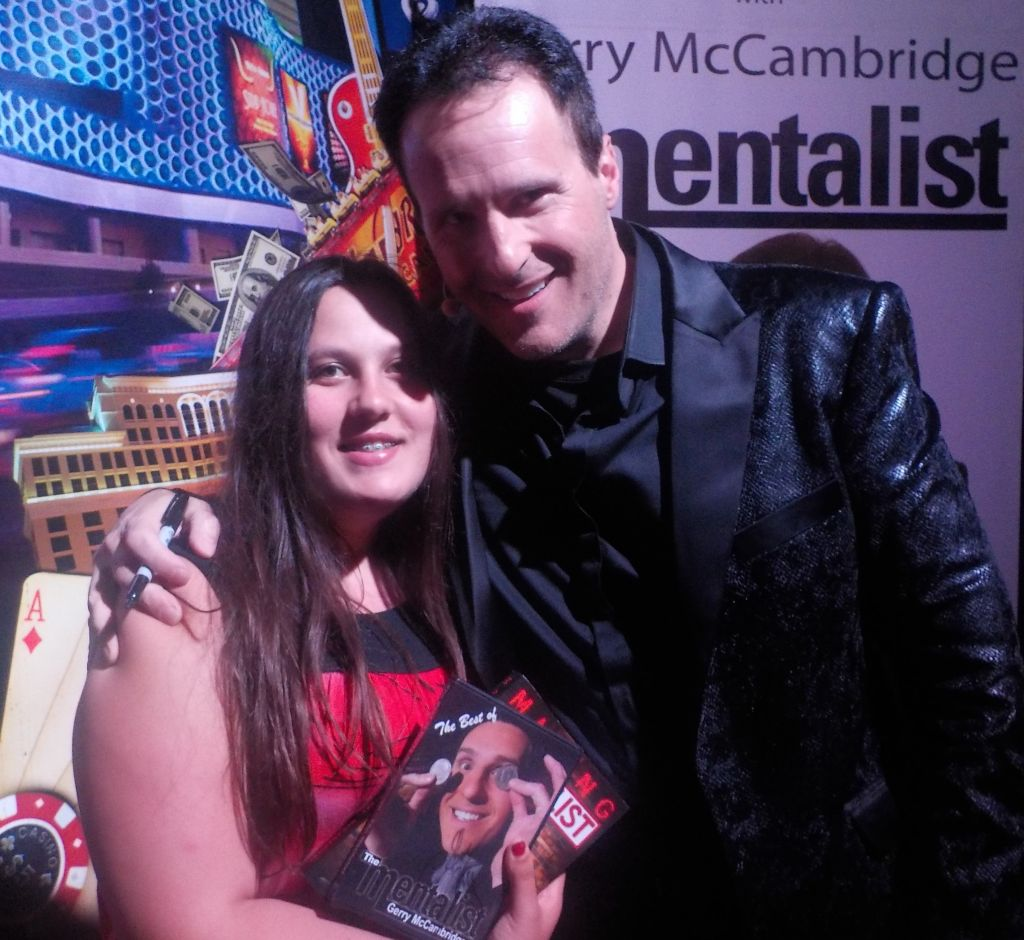 Neil's daughter Rachel meets Mentalist Gerry McCambridge
