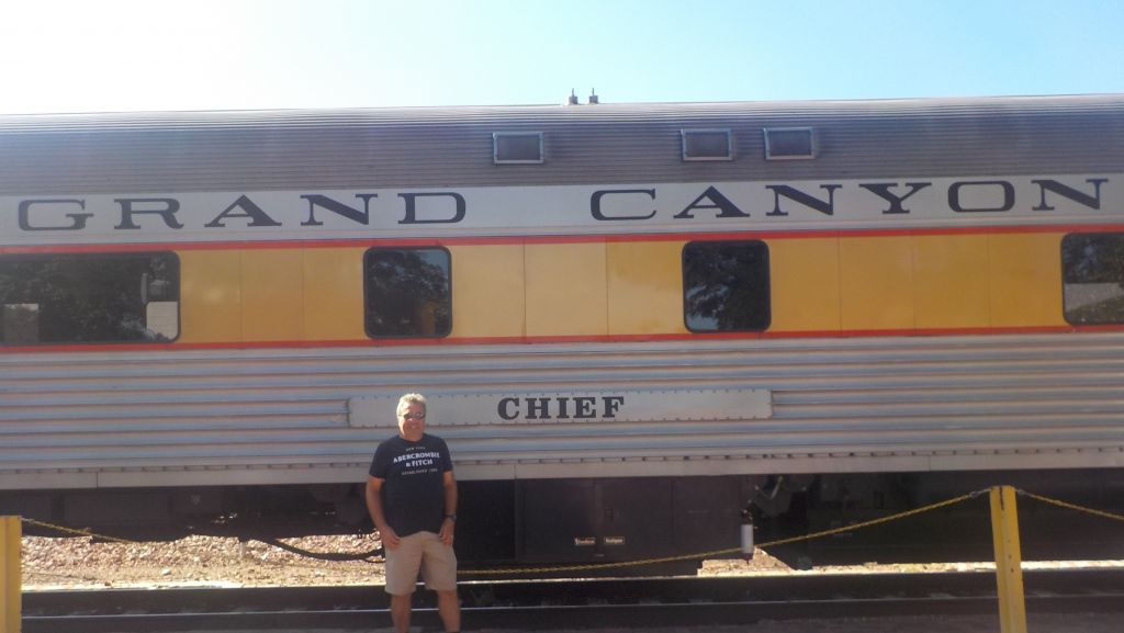 Let the train take the strain on The Grand Canyon Railway