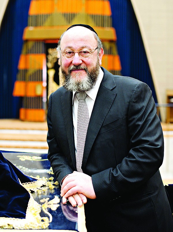 Chief Rabbi Mirvis (© Blake Ezra Photography)