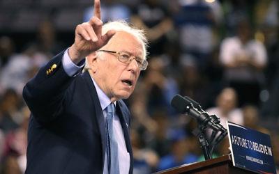 U.S. Sen. Bernie Sanders    (Photo by Mark Wilson/Getty Images)