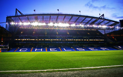 Stamford Bridge, where Chelsea play their home games