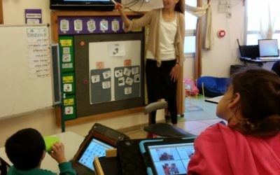 Israeli technology being used in the classroom