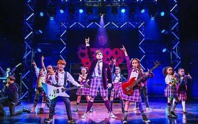 Shoshana Ezequiel stars in School of Rock The Musical
