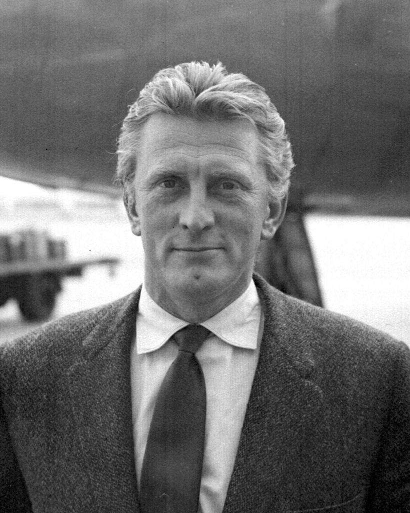 Kirk Douglas in his younger days (Photo credit: PA Wire)
