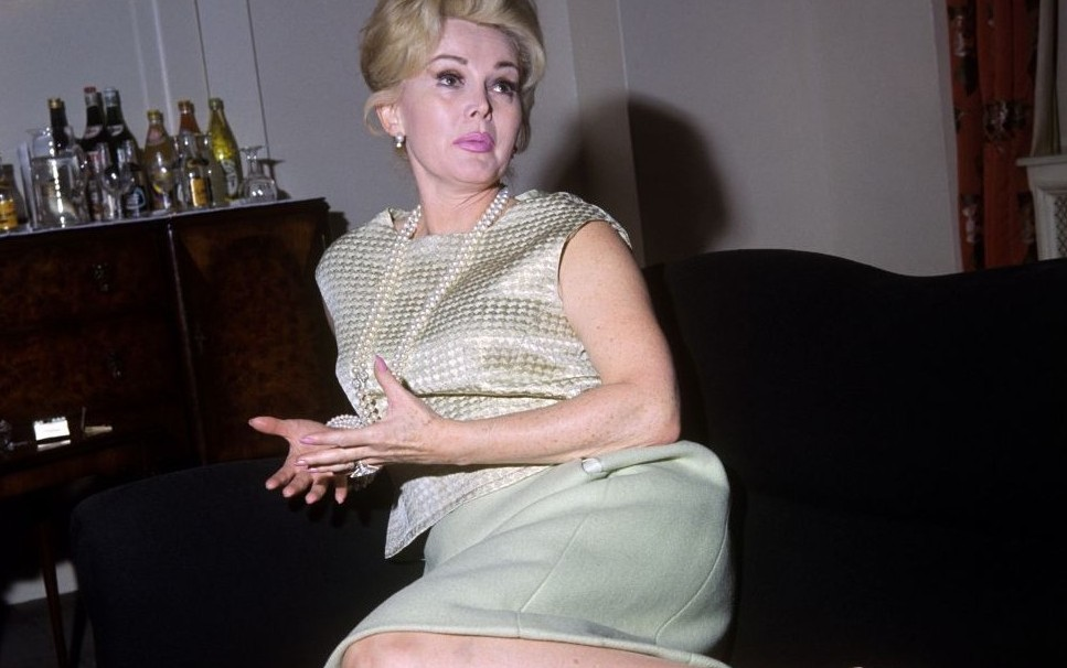 Actress Zsa Zsa Gabor ( Photo credit should read: PA Wire)