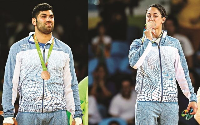 Ori Sasson and Yarden Gerbi are among two of our nominees who have made our shortlist for sportsperson of the year