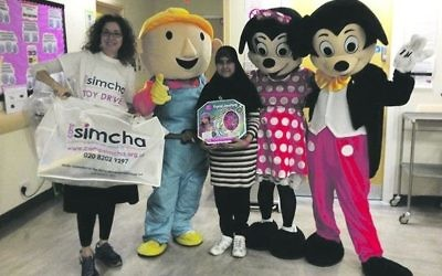 The fun begins here! The Camp Simcha team prepare to visit Barnet Hospital