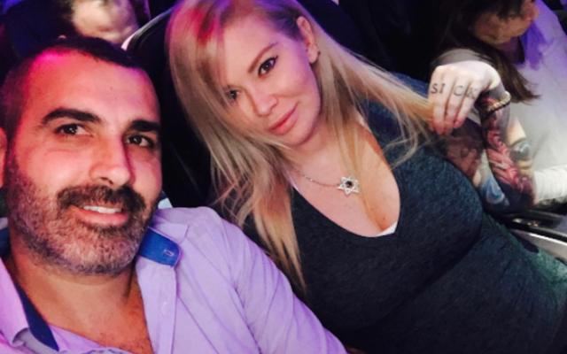 Jenna Jameson with her Israeli fiancé  Lior Bitton