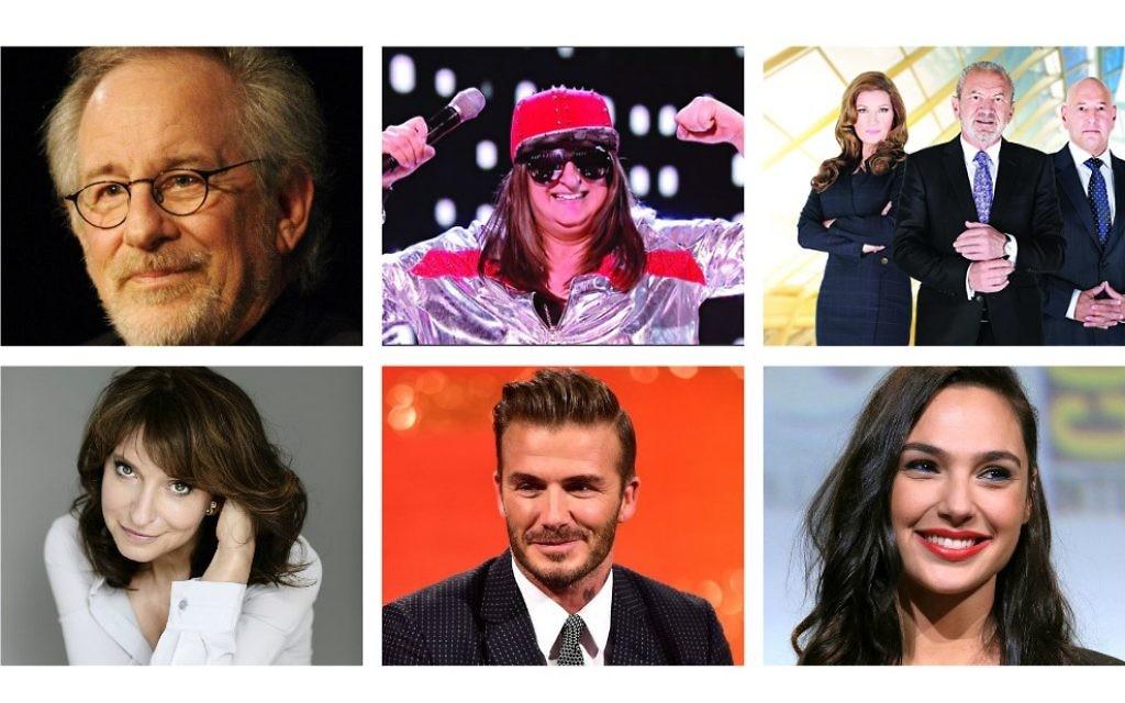 2016 success stories: Steven Spielberg, HONEY G, Alan Sugar, Susan Bier, David Beckham, Gal Gadot