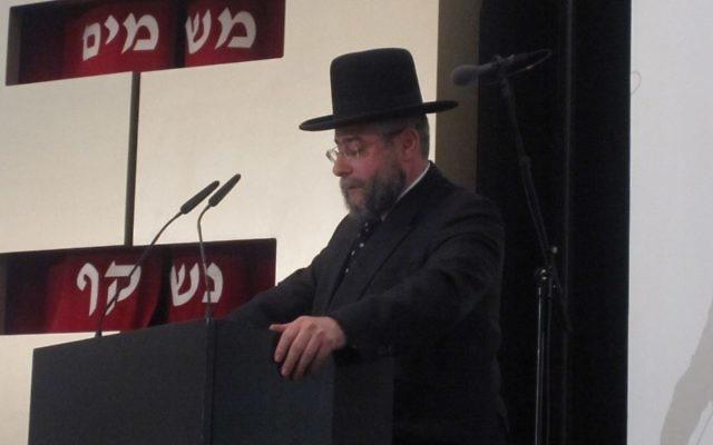 Rabbi Pinchas Goldschmidt