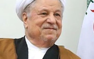 Former president Rafsanjani