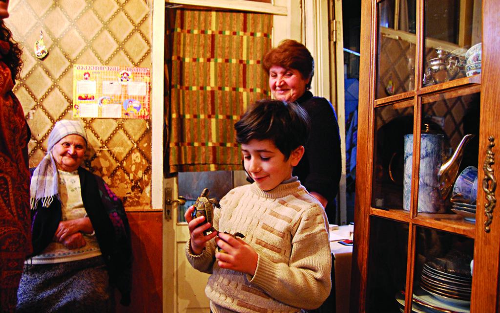 A Jewish family in Georgia (World Jewish Relief)