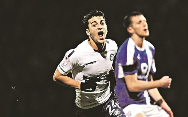 Scott Kashket scored Wycombe's equaliser in their 2-1 Checkatrade Trophy quarter-final win over Mansfield